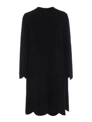 Max Mara: cappotti al ginocchio - Romantico cappotto Sacco con fondo smerlato