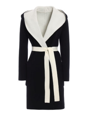 Max Mara: knee length coats - Verbano reversible coat