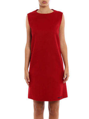 Max Mara: knee length dresses online - Fionda double wool and angora dress