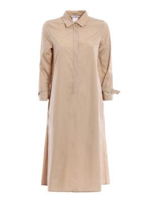 Max Mara: knee length dresses - Relais trench style shirt dress