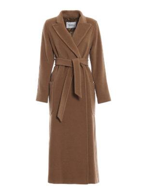 Max Mara: cappotti lunghi - Cappotto Adda in cammello