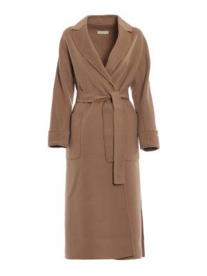Max Mara: cappotti lunghi - Cappotto Algeri in pura lana