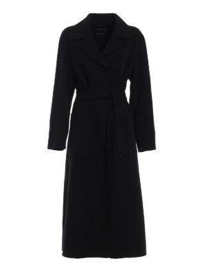 Max Mara: cappotti lunghi - Cappotto Giostra in pura lana