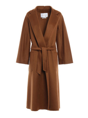 Max Mara: long coats - Labbro oversized cashmere coat