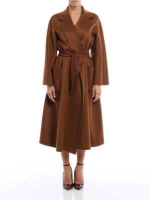 Max Mara: long coats online - Labbro oversized cashmere coat