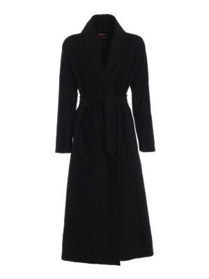 Max Mara: cappotti lunghi - Cappotto Sorbona in pura lana