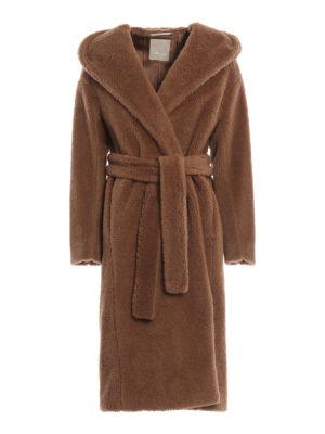 Max Mara: cappotti lunghi - Cappotto lungo Vello in lana effetto peluche