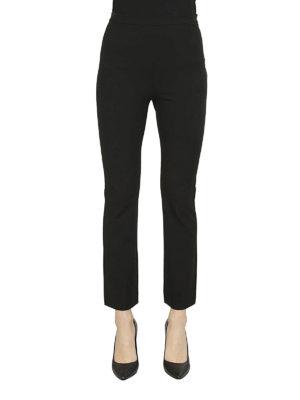 Max Mara: pantaloni casual online - Pantaloni Calerno in viscosa crepe