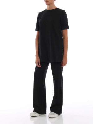 Max Mara: pantaloni casual online - Pantaloni Campos impreziositi