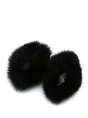 Max Mara: guanti online - Polsi Susanna in pelliccia