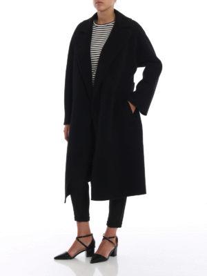 Max Mara: cappotti al ginocchio online - Cappotto Burgos in pura lana