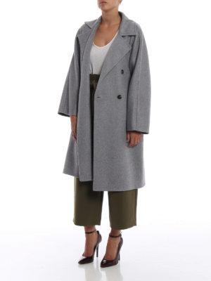 Max Mara: cappotti al ginocchio online - Cappotto Faust in cashmere melange