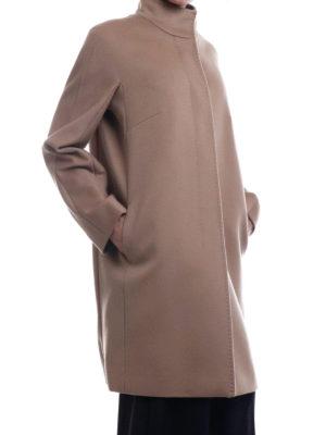 Max Mara: cappotti al ginocchio online - Cappotto Melina in pura lana color cammello