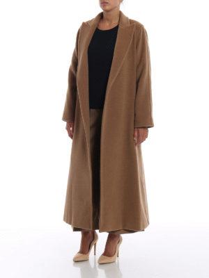 Max Mara: cappotti lunghi online - Cappotto Adda in cammello