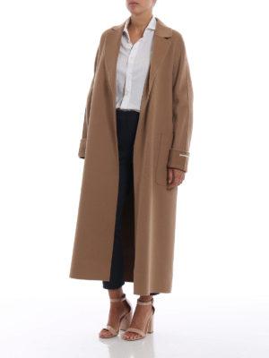 Max Mara: cappotti lunghi online - Cappotto Algeri in pura lana
