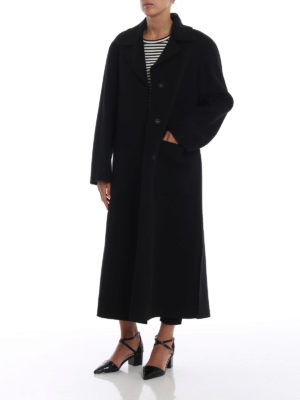 Max Mara: cappotti lunghi online - Cappotto Giostra in pura lana
