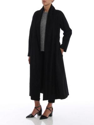 Max Mara: cappotti lunghi online - Cappotto Sorbona in pura lana