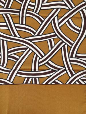 Max Mara: sciarpe e foulard online - Sciarpa Agitare in twill di seta stampata