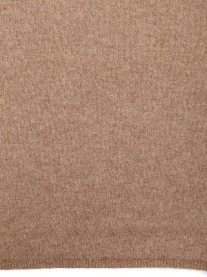 Max Mara: sciarpe e foulard online - Collo Pacca in cashmere beige