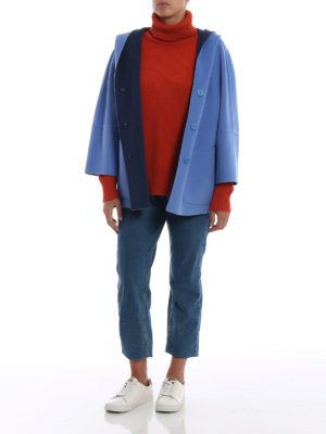 Max Mara: cappotti corti online - Cappottino Banfy reversibile