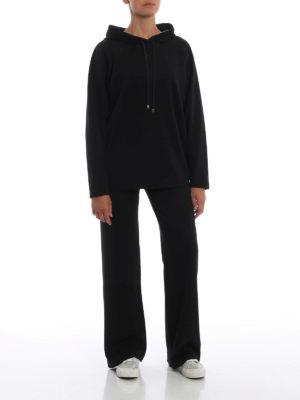 Max Mara: Felpe e maglie online - Felpa Satrapo con cappuccio decorato