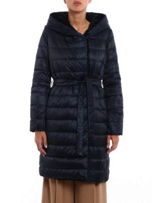 Max Mara: padded coats online - Noveast reversible hooded down coat