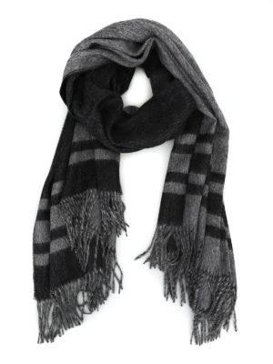 Max Mara: sciarpe e foulard - Sciarpa Nausica in alpaca jacquard