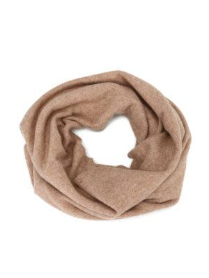 Max Mara: sciarpe e foulard - Collo Pacca in cashmere beige