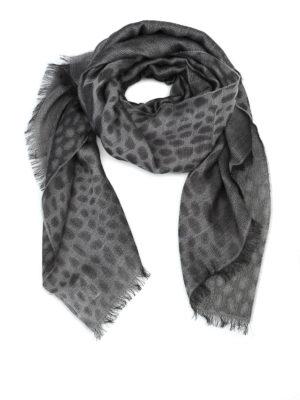 Max Mara: sciarpe e foulard - Sciarpa Potus in lana jacquard