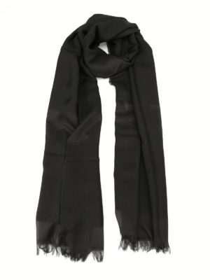 Max Mara: scarves - Tessile silk blend scarf