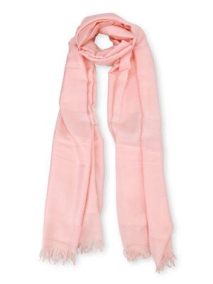 Max Mara: scarves - Tessile viscose blend scarf