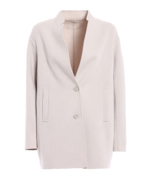Max Mara: short coats - Aldeno wool and angora short coat