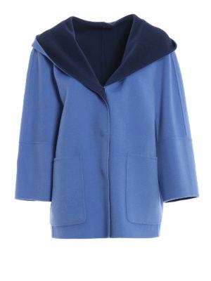 Max Mara: cappotti corti - Cappottino Banfy reversibile