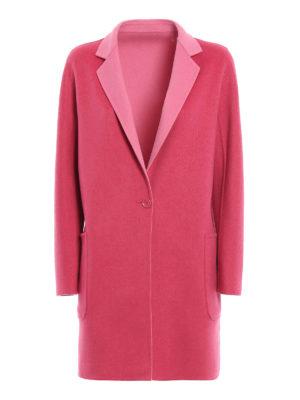 Max Mara: short coats - Lillo wool reversible coat