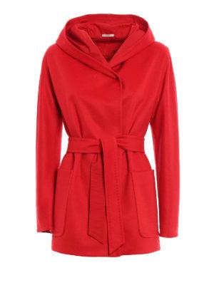 Max Mara: short coats - Milano reversible coat
