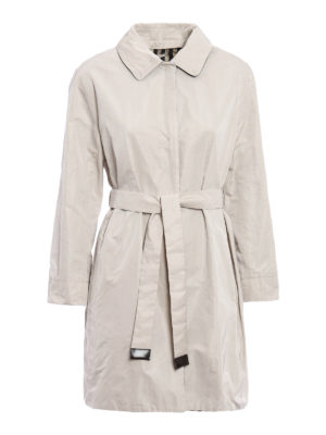 Max Mara: short coats - Noverar reversible raincoat