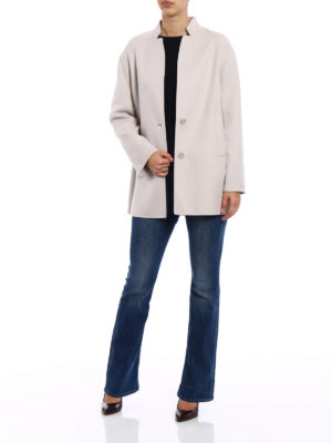 Max Mara: short coats online - Aldeno wool and angora short coat
