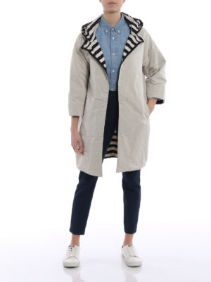 Max Mara: short coats online - Failler reversible coat