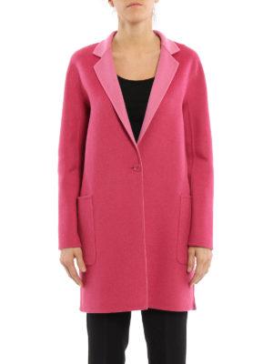 Max Mara: short coats online - Lillo wool reversible coat