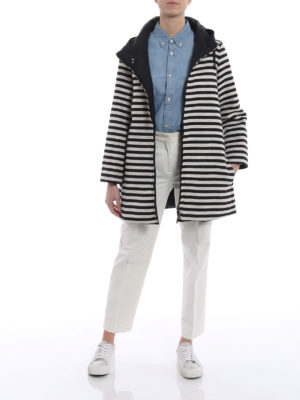 Max Mara: short coats online - Novejaq reversible coat