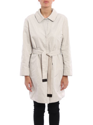 Max Mara: short coats online - Noverar reversible raincoat