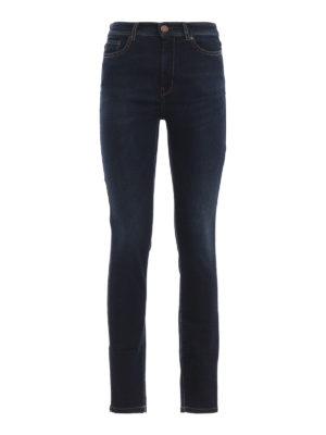 Max Mara: jeans skinny - Jeans skinny Kabala a vita bassa