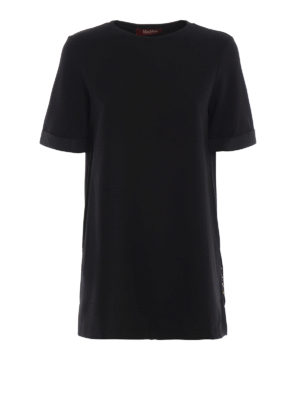 Max Mara: t-shirt - T-shirt Falla impreziosita