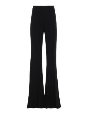Max Mara: Pantaloni sartoriali - Pantaloni Mirra in leggero cady