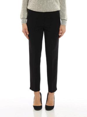 Max Mara: Tailored & Formal trousers online - Alpe virgin wool trousers