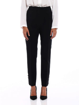 Max Mara: Tailored & Formal trousers online - Papaile sleek trousers