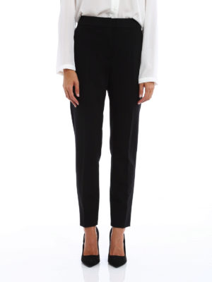 Max Mara: Tailored & Formal trousers online - Pegno heavy jersey formal trousers