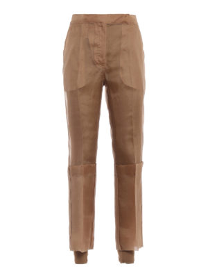 Max Mara: Tailored & Formal trousers - Opale organza trousers