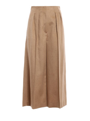 Max Mara: Tailored & Formal trousers - Panetto camel culottes