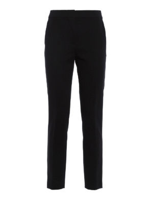 Max Mara: Tailored & Formal trousers - Pegno heavy jersey formal trousers